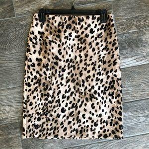 Philosophy Apparel - leopard pointe pencil skirt